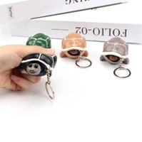 Cute Decompression Toy Shrink head tortoise Crowded Stress Ball Keychain Kids Squeeze Baby Key-chain Toys DHL