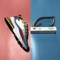2021 En Kaliteli Yastık Erkek Kadın 270 Reaksiyon Spor Koşu Ayakkabıları Örgü Kaktüs Parkurları Üçlü Siyah Bahuaus 27c Erkek Bayan Yaz Açık Trainers Sneakers B ile