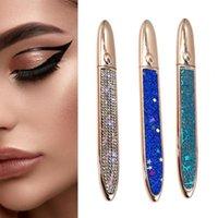Eyeliner Waterproof Pen Practical Bright Color Liquid Self-adhesive Long Lasting Eyelash Glue 3 In 1 Cosmetic
