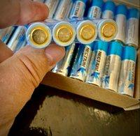 Nectium AA Alkaline Batteries 48 عدد الجهد 1.5 فولت 10 سنوات الرف الحياة للكاميرا وحدة تحكم لعبة الشعلة قوة طويلة الأمد