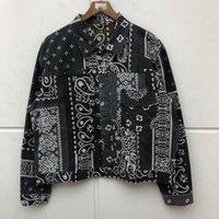 Kapital 캐슈 더블 사이드 자켓 셔츠 남성 여성 1 : 1 품질 가을 겨울 데님 코트 남성 자켓