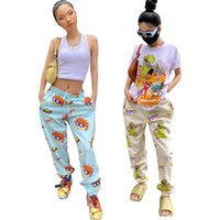 Sexy dress cute cartoon printed districts women jumpsuits guard in pajamas