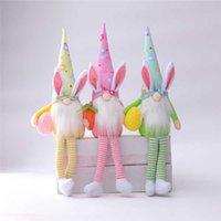Pasen Gnomes Faceless Bunny Dwarf Doll Konijn Pluche Speelgoed Kids Gift Happy Pasen Party Woondecoratie