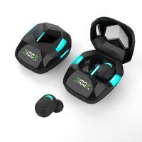 G7S TWS Wireless Bluetooth Earphones Stero Earbuds LED Display Noise Reduction Gaming Headphones Sports Waterproof Headsets