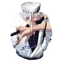 Весна осень мода аниме есть толстовки Gintama 3D печатные мужчины / женщины повседневная толстовка с капюшоном пуловер унисекс хип-хоп Hoodie Tops