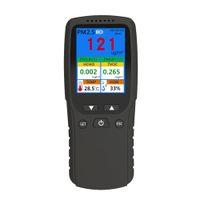 Epacket 핸드 헬드 HCHO TOVC 미터 PM2.5 온도 습도 분석기 휴대용 공기 품질 모니터 다기능 가스 검출기 LCD 디지털 열 촬영 106A