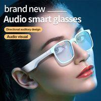 ضوء مكافحة الأزرق تشغيل بلوتوث 5.0 سماعات نظارات الذكية الرياضة في الهواء الطلق ماء النظارات الشمسية يدويا دعوة الموسيقى الصوت سماعة