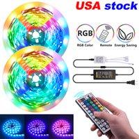 RGB-LED-Streifen 16.4ft 32.8ft 5050 Streifenleuchten 150LEDs 300LEDs mit 440-Fernbedienung