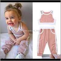 Baby Clothing Baby, Kids & Maternitypudcoco Est Mesh Tracksuit Crop Tops+Long Pants 2Pcs Cotton Outfits Active Child Girls Sets Clothes 1-6T