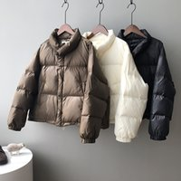 Down jacket female new winter 2021 han edition of easing thickening bread leisure warm coat Luxury goods