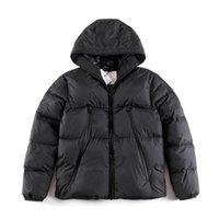 Mens 다운 재킷 코트 겨울 자수 재킷 최고 품질 남성 여성 캐주얼 야외 따뜻한 깃털 래빗 클래식 스타일 유지 큰 포켓 수 놓은 편지