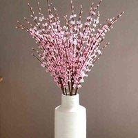 イミテーションPE冬ジャスミン梅の花造花ブーケ家のリビングルームの装飾