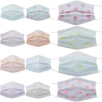 10pc Disposable Face Mask Industrial 4ply Ear Loop Reusable Mouth Cover Fashion Fabric Masks Mascarilla