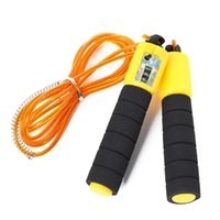 Jump Ropes Rope With Counter Adjustable Skipping Steel Wire Anti Winding Wear Resistant Workout For Indoor Outdoor &T8