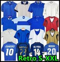 1990 1996 1994 1998 1982 Retro 2000 Futebol Futebol Jersey Maldini Baggio Rossi Schillaci Totti Del Piero 2006 Pirlo Inzaghi Buffon Itália Canavaro Materazzi Nesta