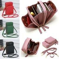 Luxury High Quality Crossbody Phone Collection Mobile Tas Mode Daily Use Map Holder Mini Summer Shoulder Bag for Women Wallet
