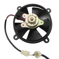 Radiateur électrique Ventilateur de refroidissement Ventilateur universel Accessoires de chaleur Durable moto Huile de refroidisseur d'huile de moto noir Silent Dirt Buggy Moteur