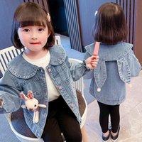 Jackets Girls Baby's Kids Coat Jacket Outwear 2021 Spring Autumn Overcoat Top Outdoor Sport CardiganToddler Children's Clothing