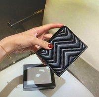466492 ماركونت محفظة بطاقة حالة أعلى جودة أزياء المرأة عملة محفظة الحقيبة مبطن الجلود مصغرة محافظ قصيرة بطاقة الائتمان حامل القابض