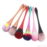 makeup brush Nail Cleaning Acrylic UV Gel Powder Removal Manicure Tools Small Waist design