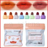 Derol 8 PCS SET MATE MINI CÁPSULA LIPSTICK LIPSTICE IMPROFESION APROBABLE LIBRE MALA LIPS LIPS Maquillaje Maquillaje Maquiagem Cosmetic