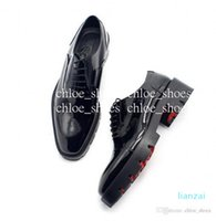 Red Bottom Handmade Oxfords Men Formal Business Shoes Wedding Party Shoe Gentlemen Brogue Dress Shoes