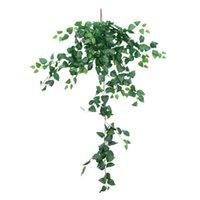 Ivy Yanlış Vines Sahte Rattan Yapay Bitki Doğal Dayanıklı Simülasyon Parthenocissus Yeşil Yapraklar Duvar Asılı Dekorasyon Dekoratif Flowe