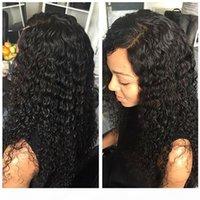 360 lace frontal wigs 150% density deep wave human wig 360 lace headgea523
