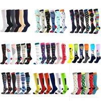 Men's Socks Drop Compression Men Women Outdoor Sports Nursing Fit Running Hiking Flight For Athelete