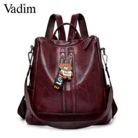 Backpack Vadim Preppy Style Bag Women Female Travel Bags Ladies School For Teenage Girls Bookbag Sac A Dos Mochila