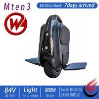 """Begode Gotway Mten3 Mini 10 """"Elektrikli Monowheel 800 W Işık ve Çevik Küçük Çocuklar Acemi Scooter Stock ABD ABD Kick Scooter"""
