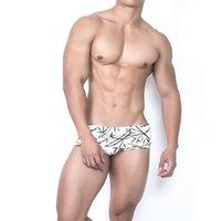 Erkekler Yüzme Sandıklar Seksi Düşük Kabuk Push-up Mayo Külot Sörf Plaj Bikini Mayolar Erkek Üçgen Yüzme Şort Swim Suit 882 Z2