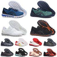 En Kaliteli 2021 GEL-Quantum 360 JCQ Koşu Ayakkabısı Siyah Mavi Yeşil Üçlü Beyaz Turuncu Gri Erkek Spor Ayakkabı Doğa Sporları Sneakers 36-45