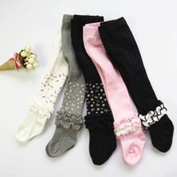 Girls Leggings Baby Pants Cotton Tights Child Clothes Autumn Winter Children Pantyhose Wear Big Socks Princess Clothing B6676