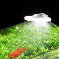 水族館照明ミニファン型水族館ライトLED水生クリップフィッシュタンクハイライトギフト