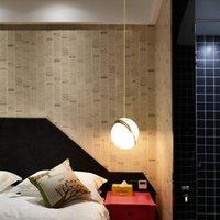Подвесные светильники Современная гостиная столовая полушария искусства люстры кафе спальня прицел лестницы светильника