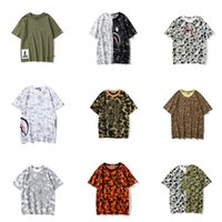 원숭이 여성 셔츠 편지 인쇄 남성용 티셔츠 캐주얼 여름 통기성 짧은 소매 힙합 스트리트 티 티트 가방 0102