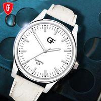 Design retro relógio de quartzo de quartzo moda homens luminosos relógios de couro pulseira de pulso masculino namorado presente relogio masculino relógios de pulso