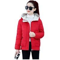 Winter Parkas Women's Jackets Down Cotton Hooded Thicken Warm Padded Female Outwear Plus Size XXXL 2021