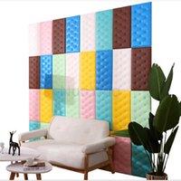 Wall Stickers Living Room Decoration Bedroom Children's Tatami Anti-collision Soft Bag 3d Waterproof Wallpaper