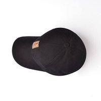 2020 Best BING YUAN HAO XUAN 8 Color Adjustable Baseball Cap Men Casual Leisure Hats Solid Color Fall Fashion Snapback Summer Hat