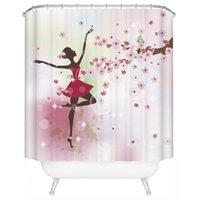 Shower Curtains Pattern Curtain Designer Bathroom Set Waterproof