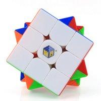 Yuxin Little Magic Cube 3x3 Schwarz Aufkleber 3x3x3 Cubo Magico Professional Nein Aufkleber Geschwindigkeit Cube Puzzle Spielzeug für Kinder LOL