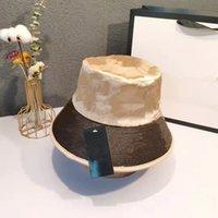 Luxus Herbst Winter Mode Fischer Hut Brief Druck Hohe Qualität Eimer Hüte Mens und Womens Casual Classic Hot Style Warm Bucke AX119