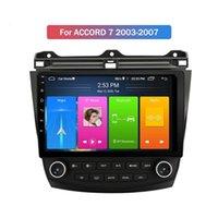 Player DVD da 9 pollici 2 DIN Android 10.0 4G per Honda Accord 7 2003-2007 Radio Tape Recorder Video GPS WiFi Audio