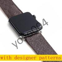 Nouvelle bracelet en cuir design pour bande de montre Apple série 6 5 4 3 2 40 mm Bracelet 44mm 38mm 42mm pour la courroie IWatch Y04