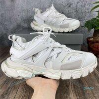 Fashion-triple s escursionismo scarpe casual uomo uomo donna sneakers lace-up colori misti moda pizzo up nonno scarpe da allenatore scarpe chaussures de sport scarp