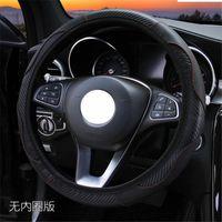 Direksiyon simidi Kapakları PU Araba Kapak Kia Ceed Mohave Optima için 38 cm Carens Borrego Cadenza Picanto shuma