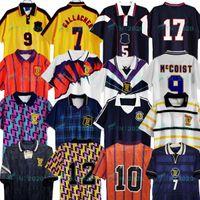 1988 1989 1990 1991 1978 اسكتلندا ريترو ألبا لكرة القدم جيرسي هوم 1998 1999 1993 1993 International McCoist بعيدا Mcallister 1996