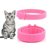 Fashion Cute Sold Adjustable Pet Cats Collar Cat Protection Neck Ring Flea Tick Mite Louse Remedy Coleira Para Gato Collars & Leads